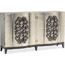 evita metallic wine cabinet