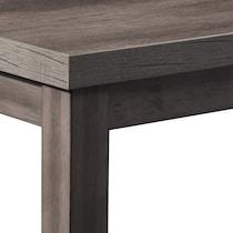 fairfield gray dining table