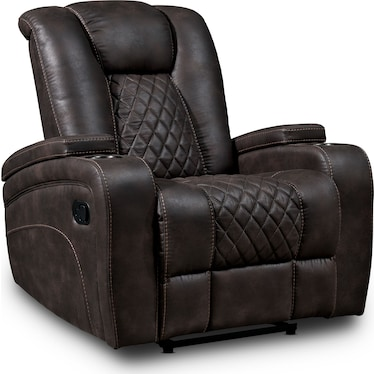 Felix Manual Recliner - Brown