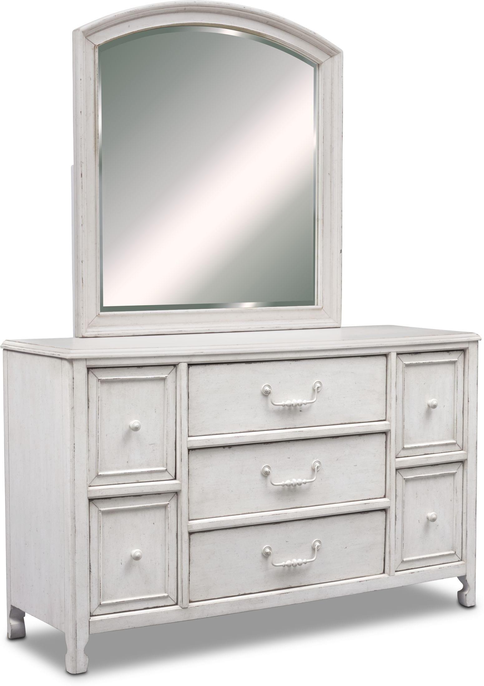 Bedroom Furniture - Florence Dresser and Mirror
