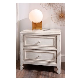 Florence 2-Drawer Nightstand