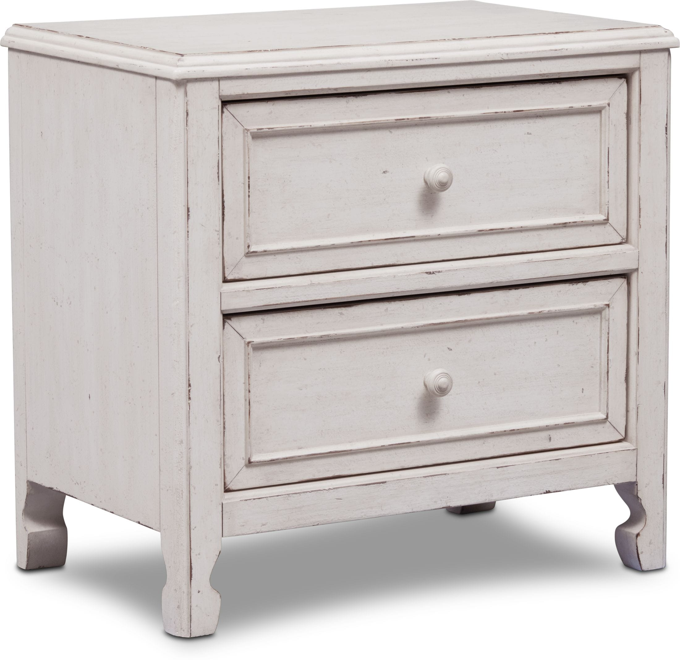 Bedroom Furniture - Florence 2-Drawer Nightstand