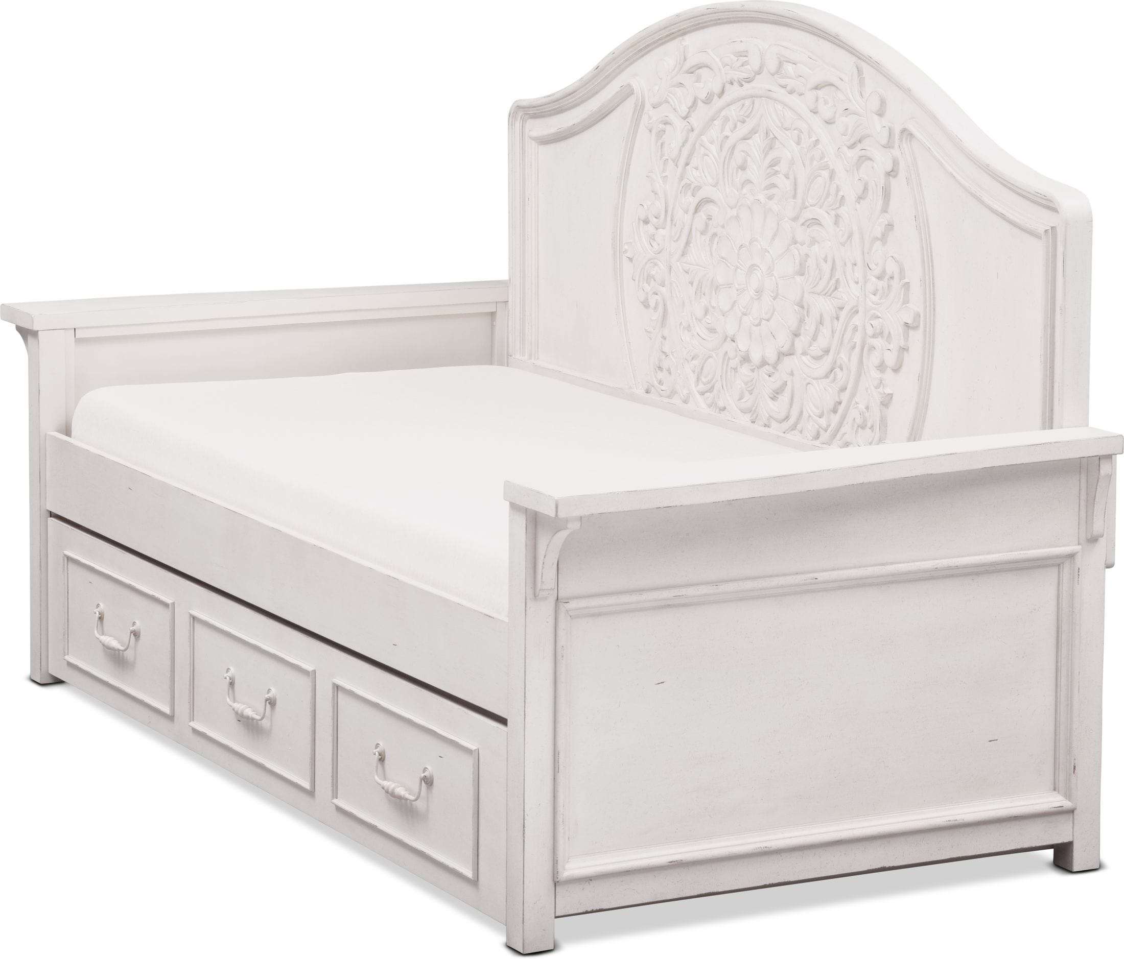 Bedroom Furniture - Florence Twin Trundle Daybed