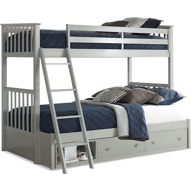 Kids Furniture - Flynn Storage Bunk Bed