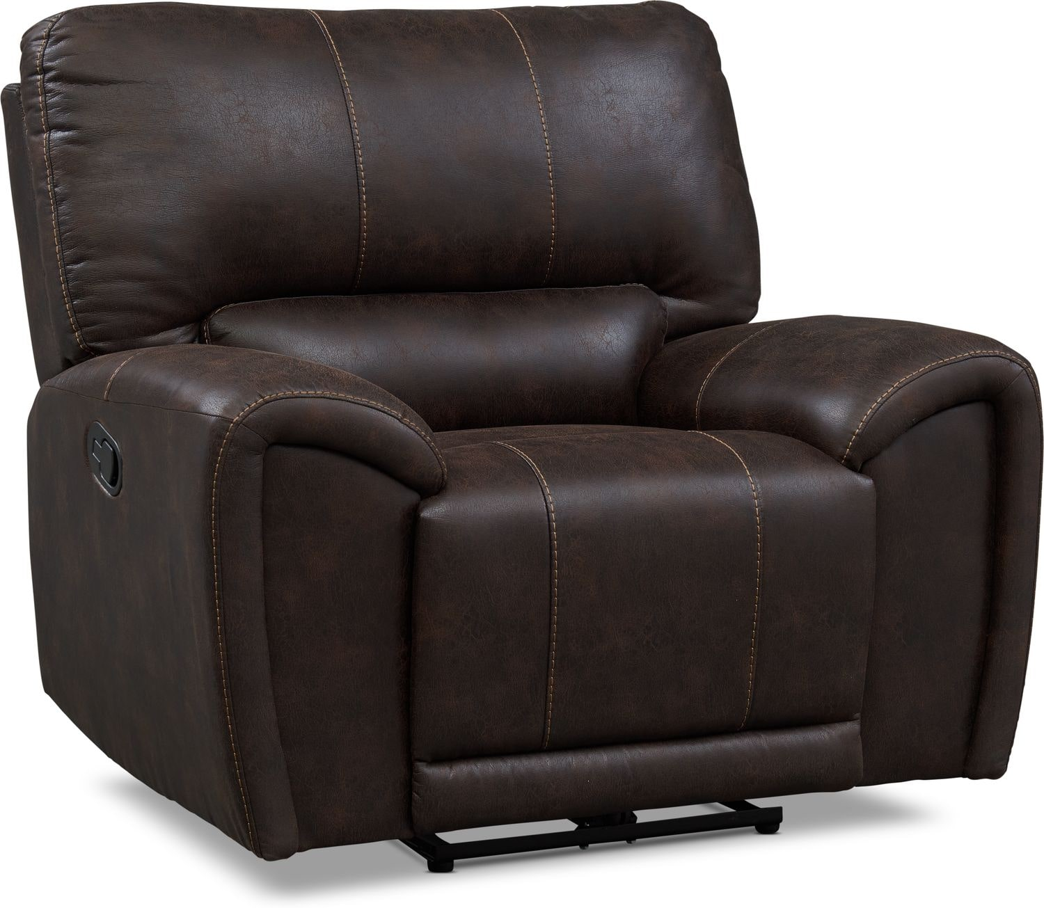 Living Room Furniture - Gallant Manual Recliner