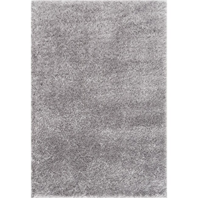 Rugs - Glitz Area Rug - Light Gray