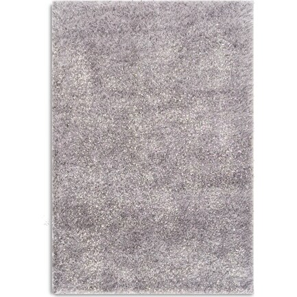 Glitz 5' x 8' Area Rug - Light Gray