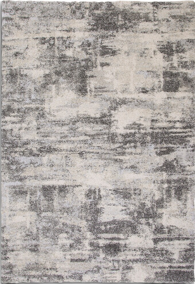 Rugs - Granada Area Rug - Ivory and Gray