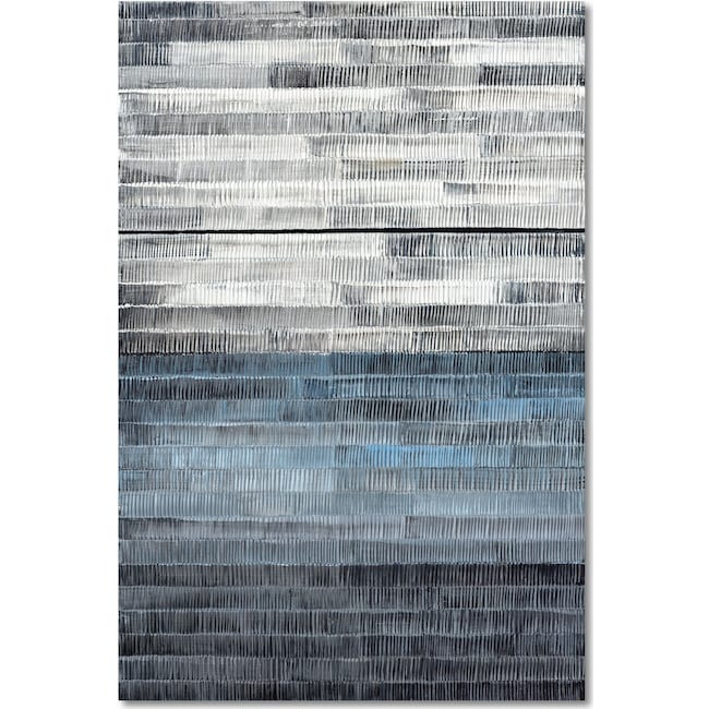 Home Accessories - Gray to Blue Wall Art