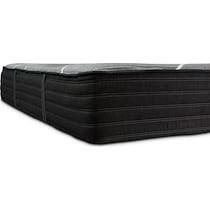 gray full mattress low profile foundation set