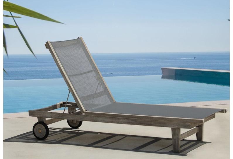 grenada gray outdoor chaise