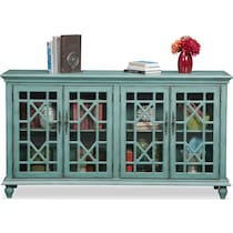 grenoble blue media credenza