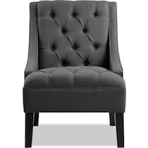 greylin gray accent chair