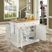 griffin white kitchen island