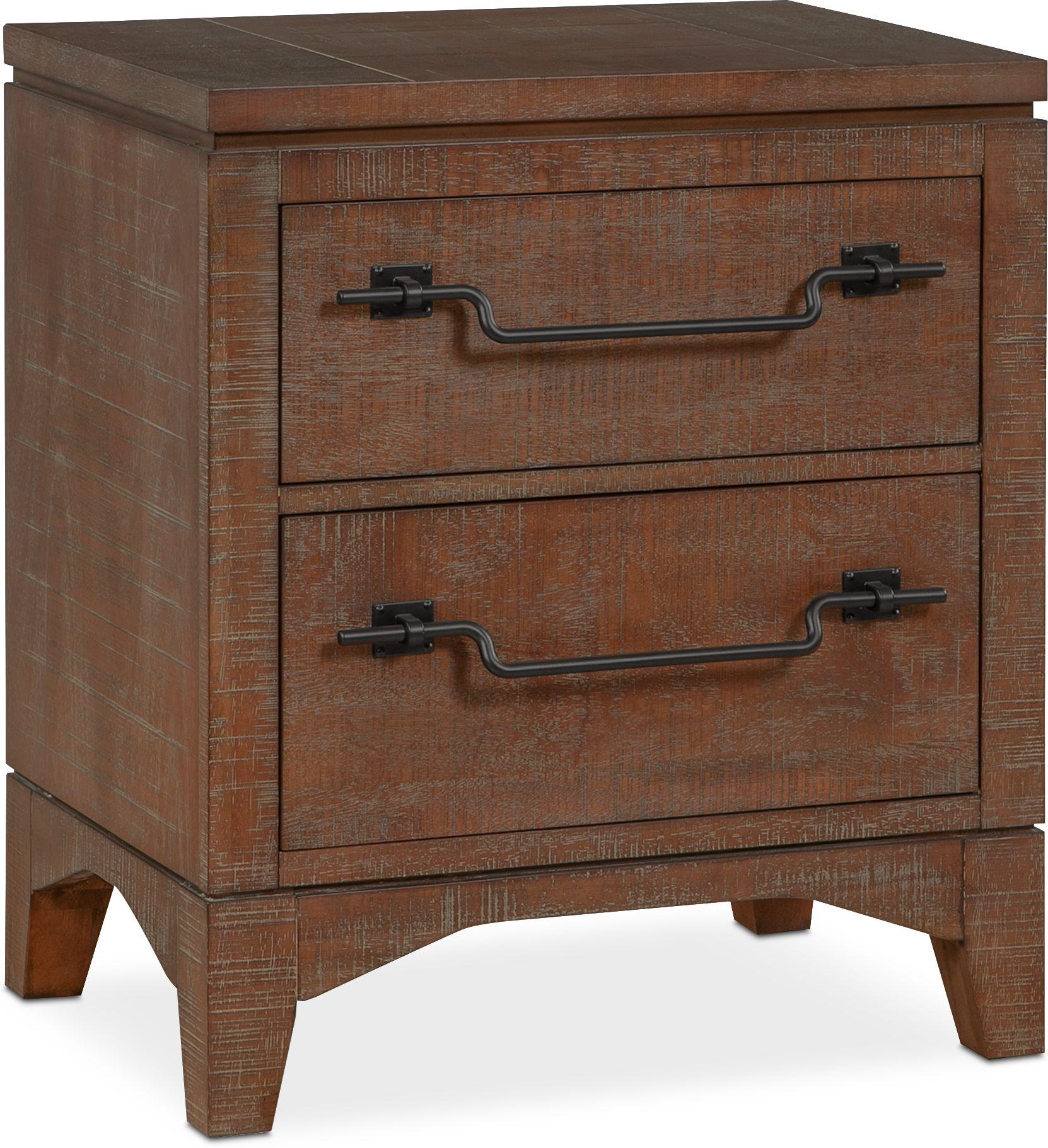 Bedroom Furniture - Gristmill Nightstand
