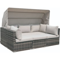 gulf shore light brown outdoor daybed