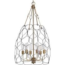 halstead gold chandelier