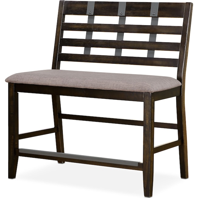 Accent and Occasional Furniture - Hampton Counter-Height Bench