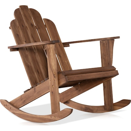 Hampton Beach Outdoor Adirondack Rocker
