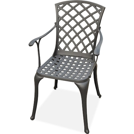 Hana Outdoor High-Back Arm Chair