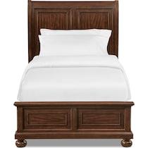 hanover youth cherry dark brown full bed