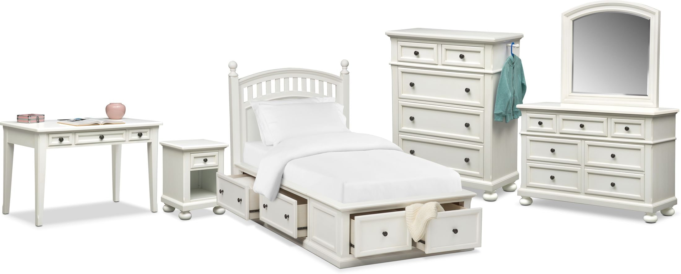 The Hanover Youth Bedroom Collection  Value City Furniture and