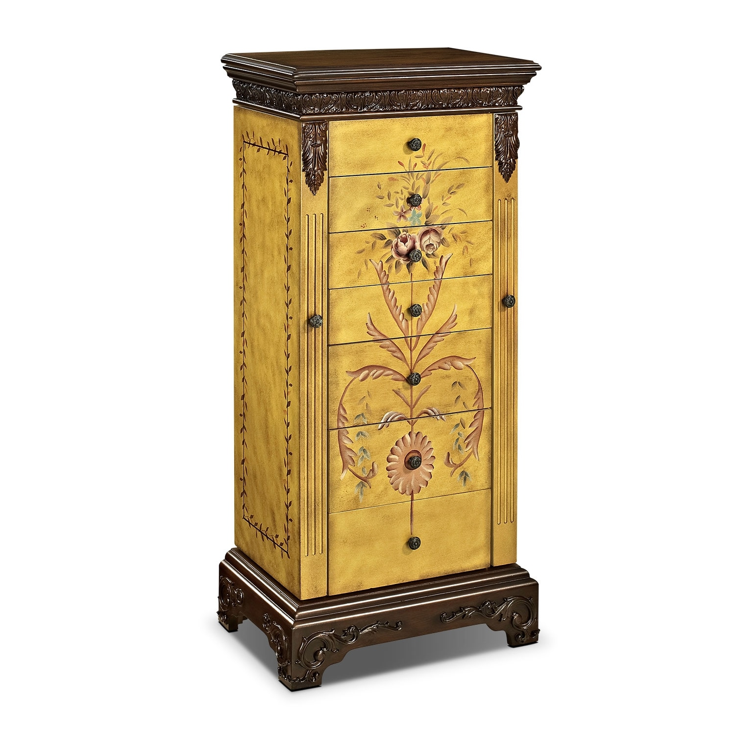 Accent and Occasional Furniture - Harlan Jewelry Armoire