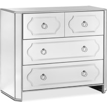 harlow mirrored accent chest
