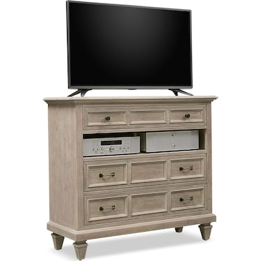 Harrison TV Stand - Gray