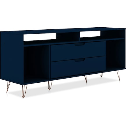 "Harvard 63"" TV Stand - Blue"