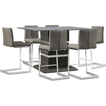 Henderson Counter-Height Dining Table and 6 Stools