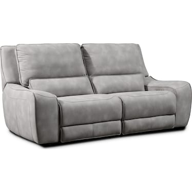 Holden 2-Piece Dual-Power Reclining Sofa - Stone