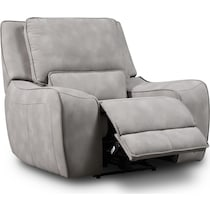holden gray power recliner