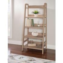 holt gray bookcase