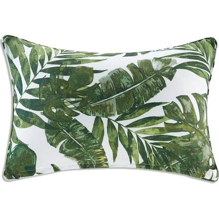 Howea Palm Outdoor Oblong Pillow