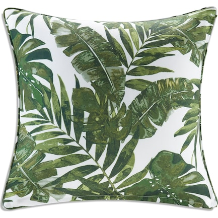Howea Palm Outdoor Square Pillow