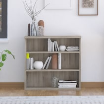 hunter gray bookcase