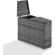 huntington gray outdoor storage