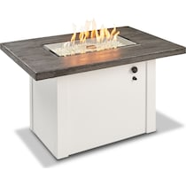indio white fire pit