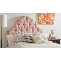 ingrid pink full queen headboard