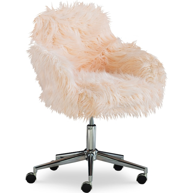 Home Office Furniture - Iona Faux Fur Office Chair