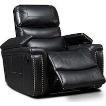 jackson black manual recliner