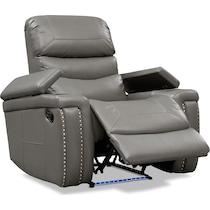 jackson gray manual recliner