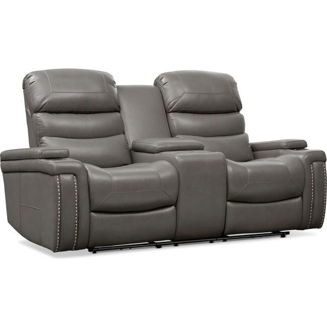 Living Room Furniture - Jackson Triple-Power Reclining Loveseat