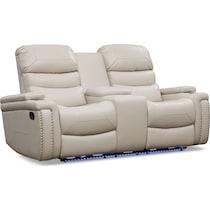 jackson white  pc manual reclining living room