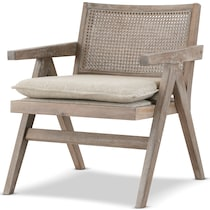 jefferson gray accent chair