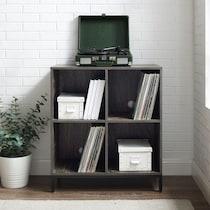 jerry dark brown bookcase