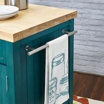 jolene blue kitchen cart