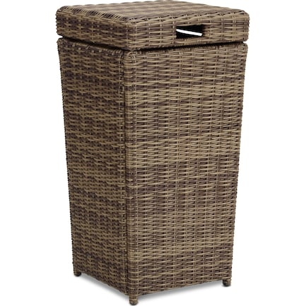 Jonah Outdoor Trash Can