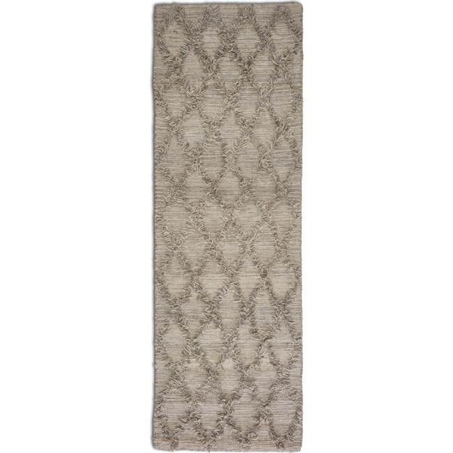 "Rugs - Jucar 30"" x 8' Runner - Gray"